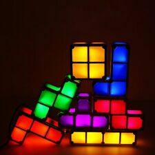 Puzzle Light Stack able LED Night Light Constructible Block Lamp Toys Children