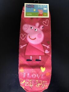 Peppa Pig Socks Size 6-8 New