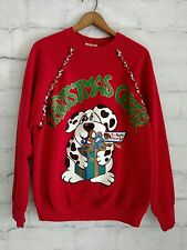Men's Ugly Christmas Sweater Cheer To Master From Spot Dog size M* Read