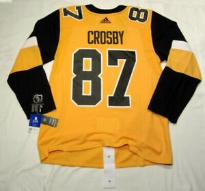 Sidney Crosby size 54 = XL - Pittsburgh Penguins alternate Adidas 3rd jersey