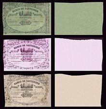 Facsimil Serie de 1860 Banco de Santander - Reproduction