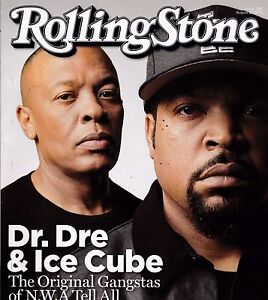 ROLLING STONE ISSUE 1242 AUG 27 2015 DR. DRE ICE CUBE DAVID GILMOUR DONALD TRUMP