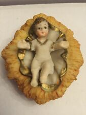 Baby Jesus In Crèche Resin For Christmas Decorations- 1 Piece