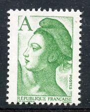 TIMBRE FRANCE NEUF ** N° 2423b SANS BANDE DE PHOSPHORE LIBERTE AVEC LETTRE A