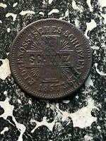 1867 Schwyz Switzerland Schutzenfest Token Lot#JM719