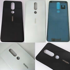 """New Rear Back Glass Housing Battery Cover Cover For Nokia 6.1 Plus 2018 5.8"""""""