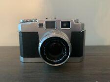 Vintage Aires 35-Iii 35mm Rangefinder Camera 4.5cm f/1.9 H Coral Lens Japan Case