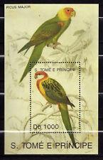 Sao Tomé and Principe : Birds ( Picus Major ) 1992 MNH