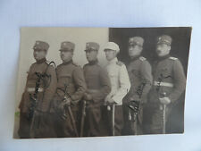 Original photograph Kingdom of Yugoslavia officers of the Royal Army