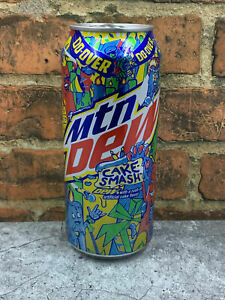 New (1) Mountain Dew Cake Smash Can 16 Fl Oz Limited Edition