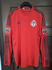 adidas Toronto FC MLS Soccer Longsleeve Jersey adizero Size M
