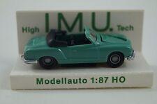 I.M.U. Modellauto 1:87 H0 VW Karmann Ghia Cabriolet Nr. 01201