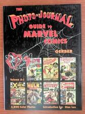 Photo-Journal Guide to Marvel Comics Hardcover V3 A-J Photos - HC !!+