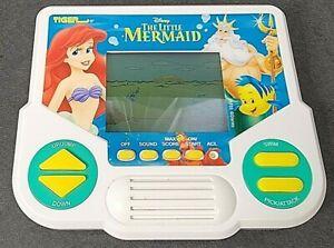 Vintage 1990 The Little Mermaid DISNEY Handheld Game Tiger Electronics Works