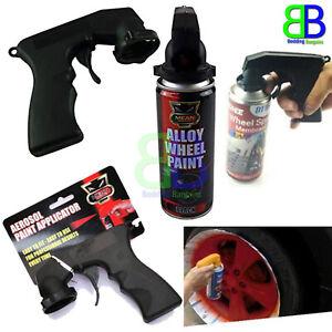 2x Professional Aerosol Spray Paint Applicator Trigger Gun Wheal Adapter Machine