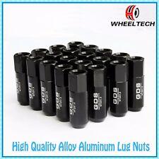 20pcs Black Aluminum tuner  Wheel Lug Nuts M12x1.5 for Ford FIESTA FOCUS 60m