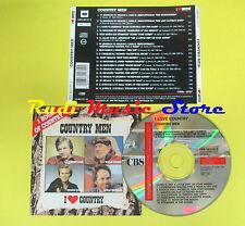 CD COUNTRY MEN compilation 1988 CASH NELSON JONES HAGGARD(C1)no lp mc dvd vhs
