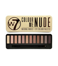 W7 Natural Nudes Eye Colour Palette, Eyeshadow Palette 1er Pack (1 x 15,6g)