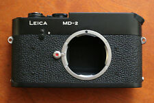 LEICA MD-2 BODY, BLACK Body! Nice, Clean!! Early Serial #  Works Great!! Cool!