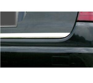 Kofferraum heckleiste zierleiste Chrom styling für AUDI A6 C4 Limousine bj.94-97