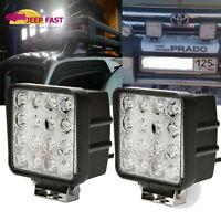 """2x 4INCH 48W LED WORK LIGHT BAR SPOT OFFROAD ATV FOG TRUCK LAMP 4WD 12V 6"""""""