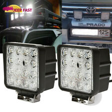 2X4'' 96W Square Cree LED Work Head Light Driving Spot Fog Offroad ATV UTE Jeep