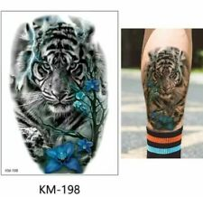 Tiger Temporary Tattoo Waterproof 21cm x 15cm