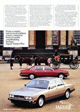 1988 Jaguar Vanden Plas - Vintage Advertisement Car Print Ad J394