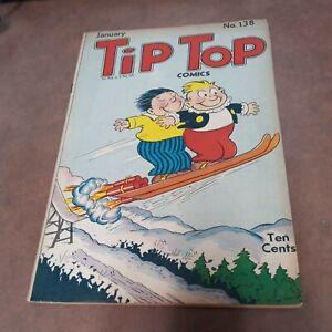 Tip Top Comics #138 United Features 1948 Li'l Abner Captain and Kids golden age
