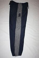 CANTERBURY MENS STRIPE  (Grey Stripe) TRACK PANTS - SIZES: S M L only
