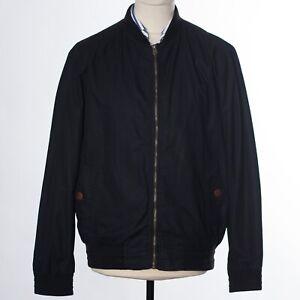 Red Herring Black Baseball Jacket Size L