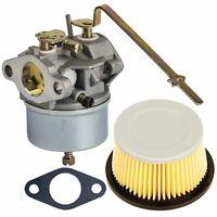 Carburetor Air Filter Carb kit for Tecumseh 631918 4HP 5HP 30727 30604 Engine US