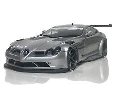 1:18 GT SPIRIT MERCEDES BENZ SLR MCLAREN GT SILVER UMBAU 2007 GT086 W BBR NO CMC