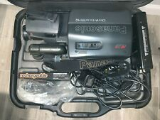Panasonic AFx8 VHS PV-520D and PV-A22MD Camcorder w/Case/Accessories