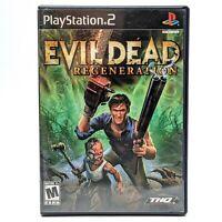 Evil Dead Regeneration PS2 Sony PlayStation 2