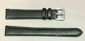 Pulsera Correa de Reloj Piel Legítima 14 mm Negro | Natural