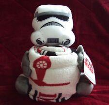 "Nwt Disney Star Wars Imperial Storm Trooper Hugger Throw Blanket Set 40"" X 50"""