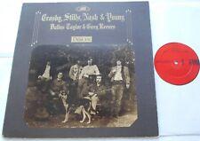 CROSBY STILLS NASH &YOUNG Deja Vu VG+ CANADA 1970 1st Press Red Label G/F LP