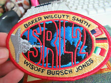 SPACE SHUTTLE PATCH NASA SRL2 BAKER WILCUTT SMITH WISOSS BURSCH JONES Sew On Pat