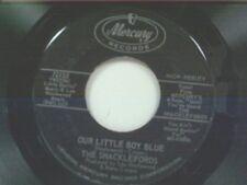 """SHACKLEFORDS """"OUR LITTLE BOY BLUE / GOLDEN BELLS"""" 45"""