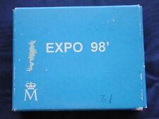 MONETA COIN ESPAÑA SPAGNA SPAIN 1000 PESETAS 1998 CARLOS I° EXPO' LISBOA ARGENTO