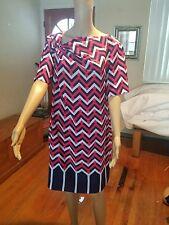 Antonio Melani dress size 12 short sleeve knee length lined