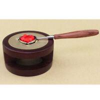 Set of 2pcs Wax Sticks Seal Melting Spoon Furnace Tool Sealing Stamp Kit