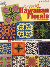 Quilting  Leaflet  Beyond Hawaiian Florals 12 Pretty Applique Designs