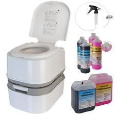 Campingtoilette Chemietoilette WC 24 Liter mobile Toilette Camping Reise Klo