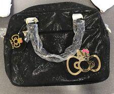 Sanrio Hello Kitty Black Glitter Laptop Bag Brand New