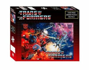Transformers Space Battle Jigsaw Puzzle 1000 Piece Robots 50cm x 70cm NEW SEALED