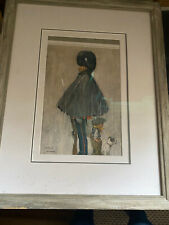 Framed print who cares if it snows by Lawson wood must see rare
