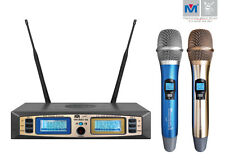 Better Music Builder VM-92U G5 UHF Wireless Microphone System Dual Channel