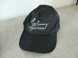 casquette johnny on t aime JOHNNY HALLYDAY jamais porté